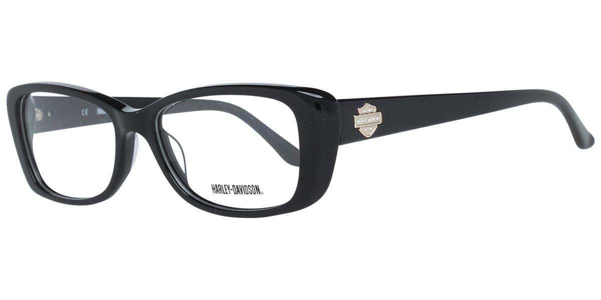 Harley Davidson HD0521 B84 Women's Glasses  Size 53 - Free Lenses - HSA/FSA Insurance - Blue Light Block Available