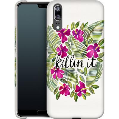 Huawei P20 Smartphone Huelle - Killin It Pink von Cat Coquillette