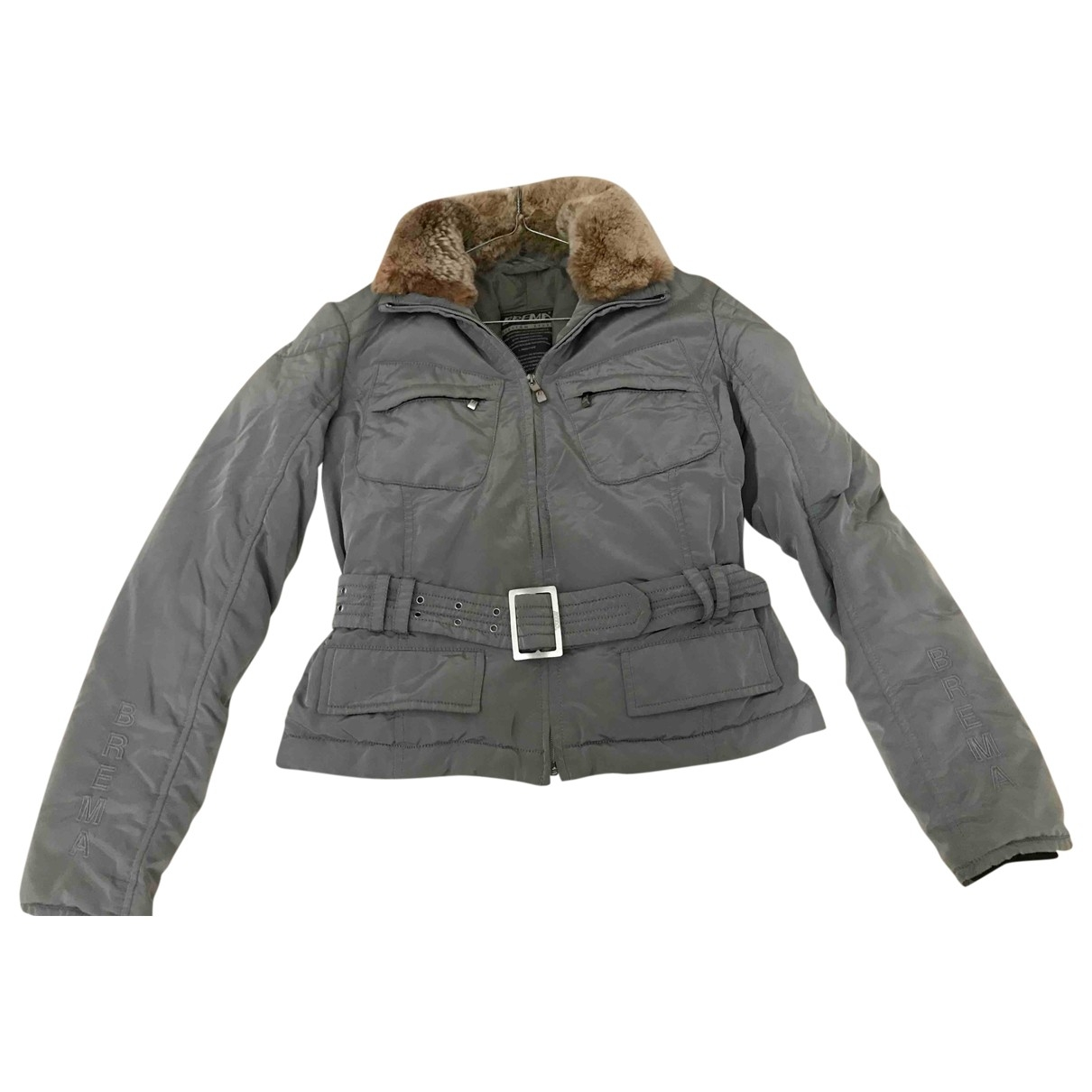 Non Signé / Unsigned \N Metallic jacket for Women 40 IT