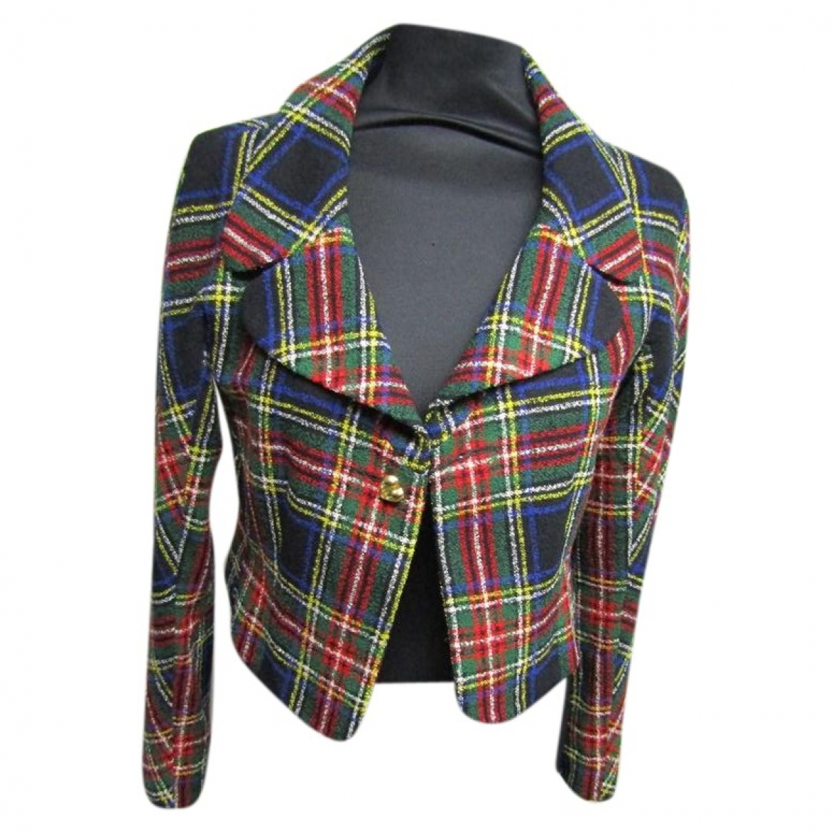 Moschino \N Jacke in  Bunt Wolle
