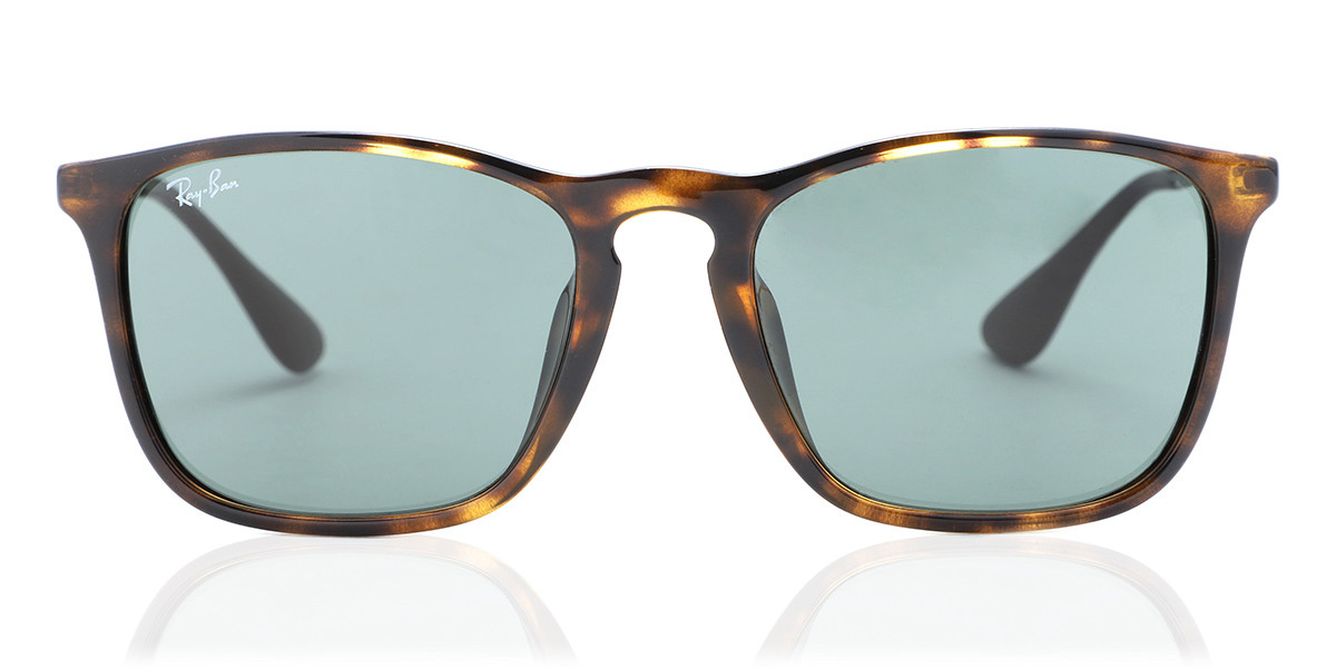 Ray-Ban RB4187F Chris Asian Fit 710/71 Mens Sunglasses Tortoise Size 54