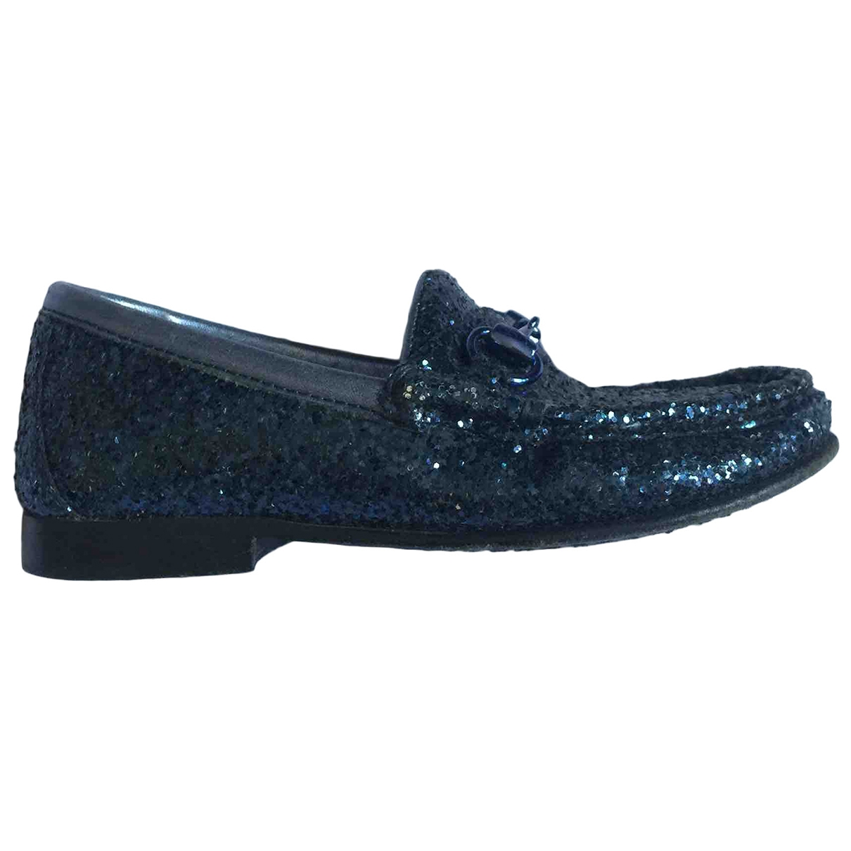 Gucci \N Blue Glitter Slippers for Kids 27 EU