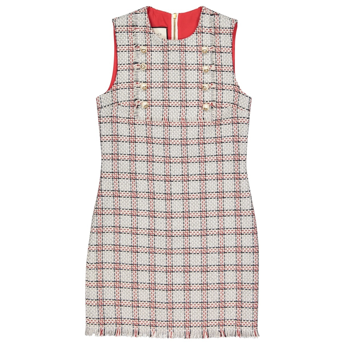 Gucci \N Multicolour Tweed dress for Women 40 IT