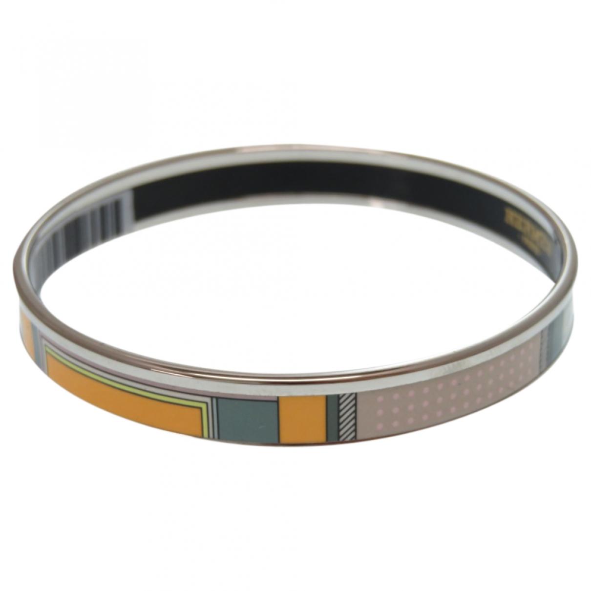 Hermès Bracelet Email Orange Metal bracelet for Women \N