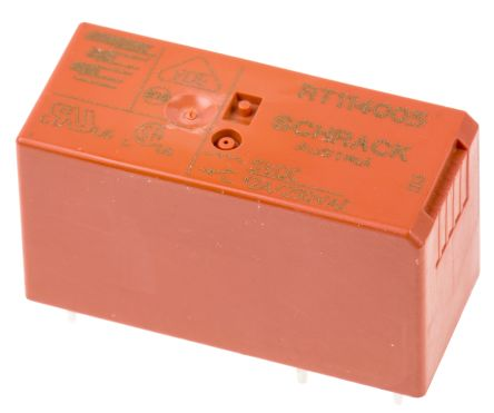 TE Connectivity , 5V dc Coil Non-Latching Relay SPDT, 12A Switching Current PCB Mount Single Pole