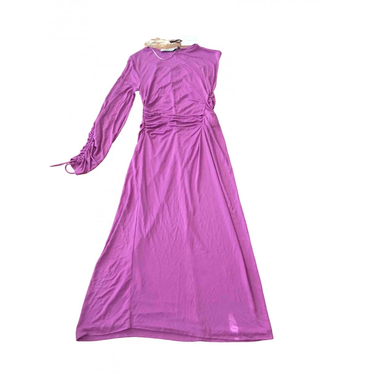 Zara \N Kleid in  Lila Viskose