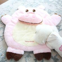 1pc Pig Shaped Dog Mat & 1pc Pillow