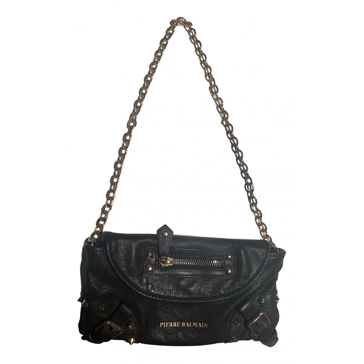 Pierre Balmain \N Black Leather Clutch bag for Women \N