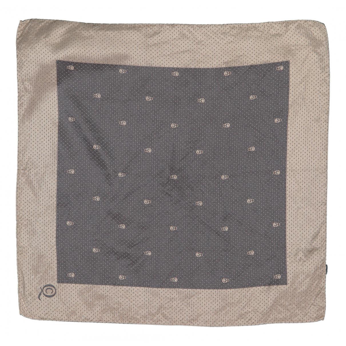 Alexander Mcqueen - Foulard   pour femme en soie - gris