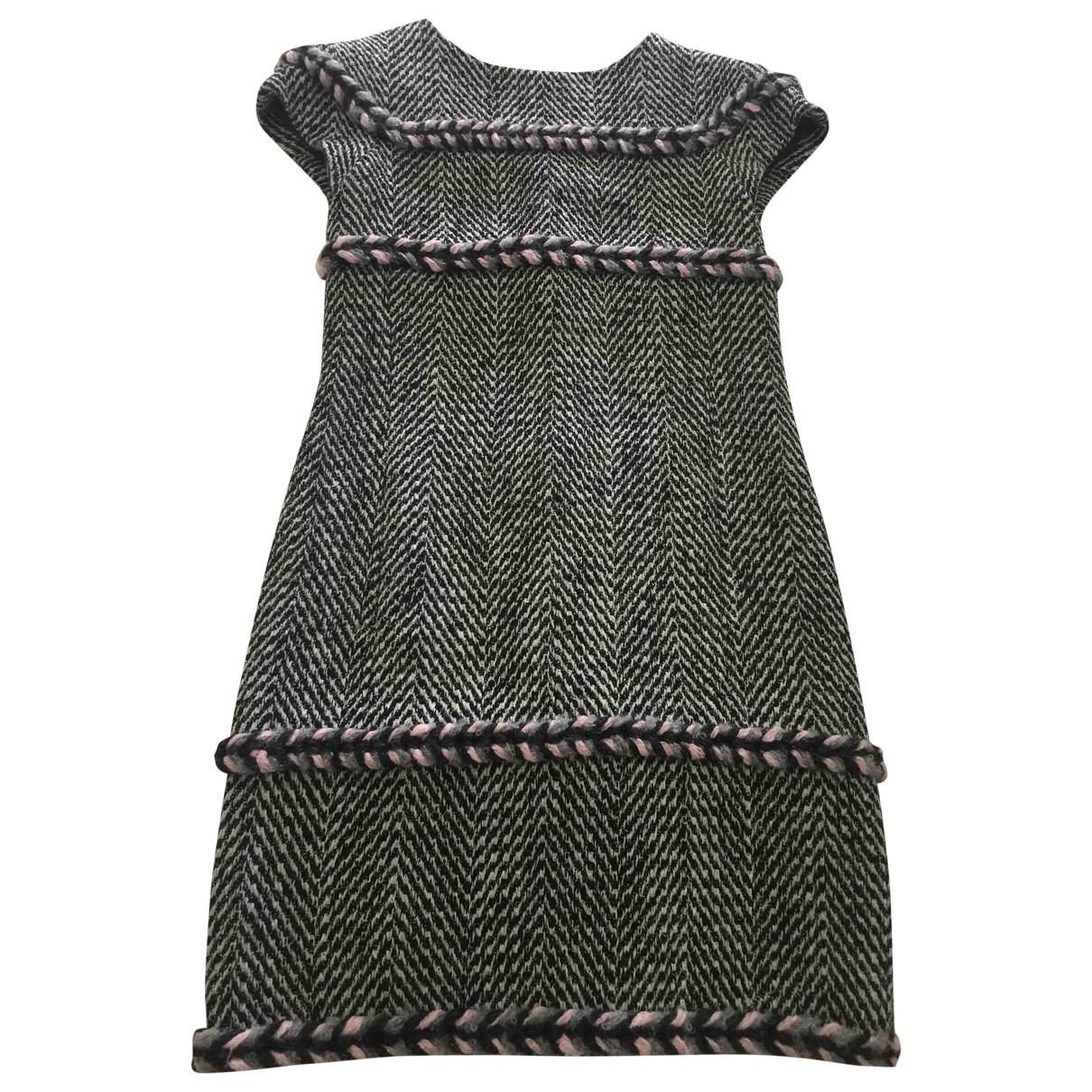 Chanel \N Multicolour Tweed dress for Women 36 FR