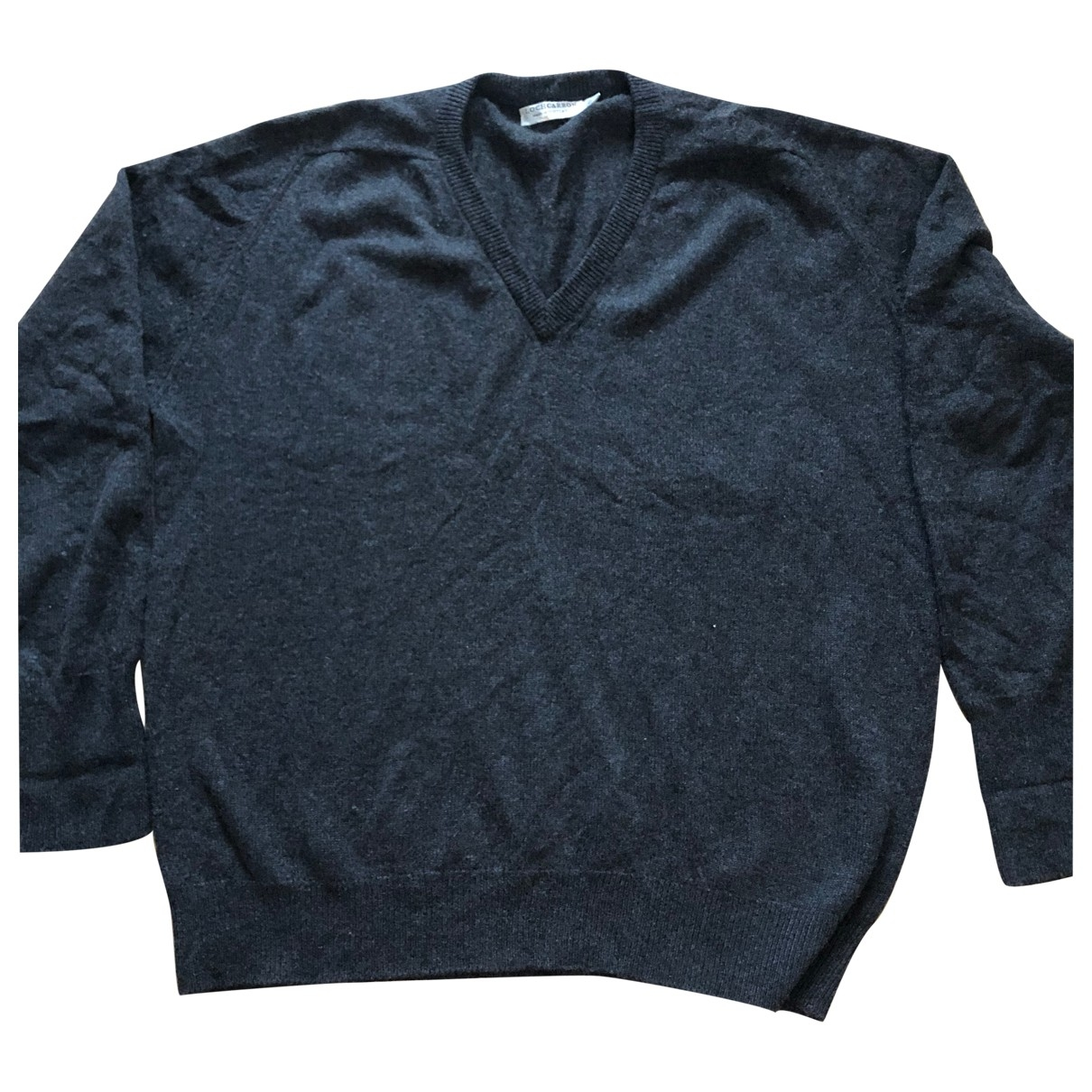 Non Signé / Unsigned \N Grey Cashmere Knitwear & Sweatshirts for Men 52 IT