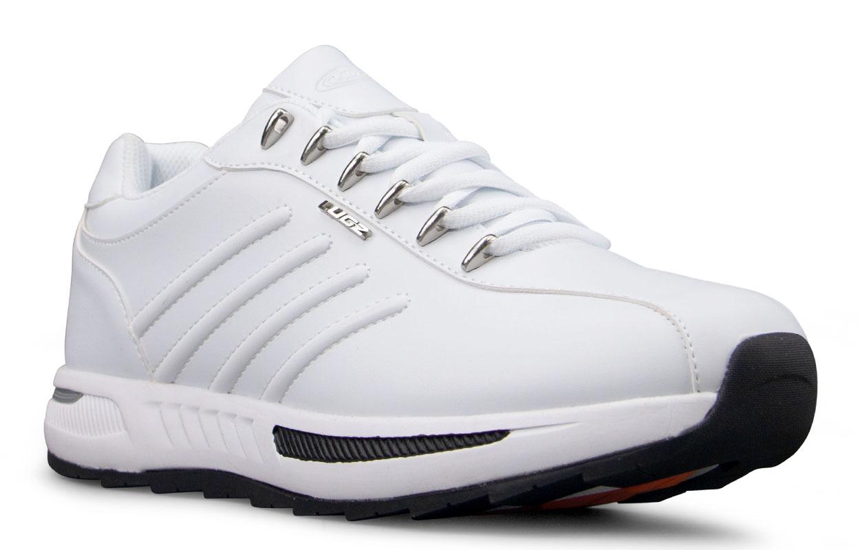 Men's Phoenix Oxford Sneaker (Choose Your Color: WHITE/BLACK, Choose Your Size: 8.5)