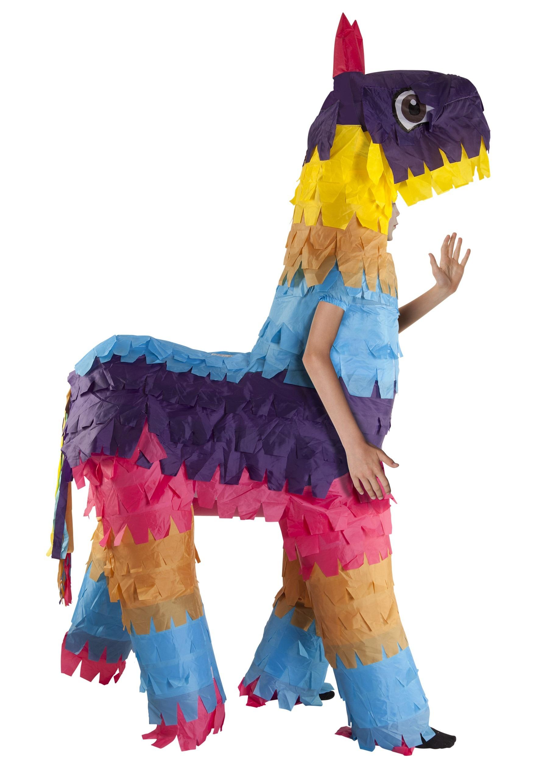 Kids Cute Inflatable Pinata Costume