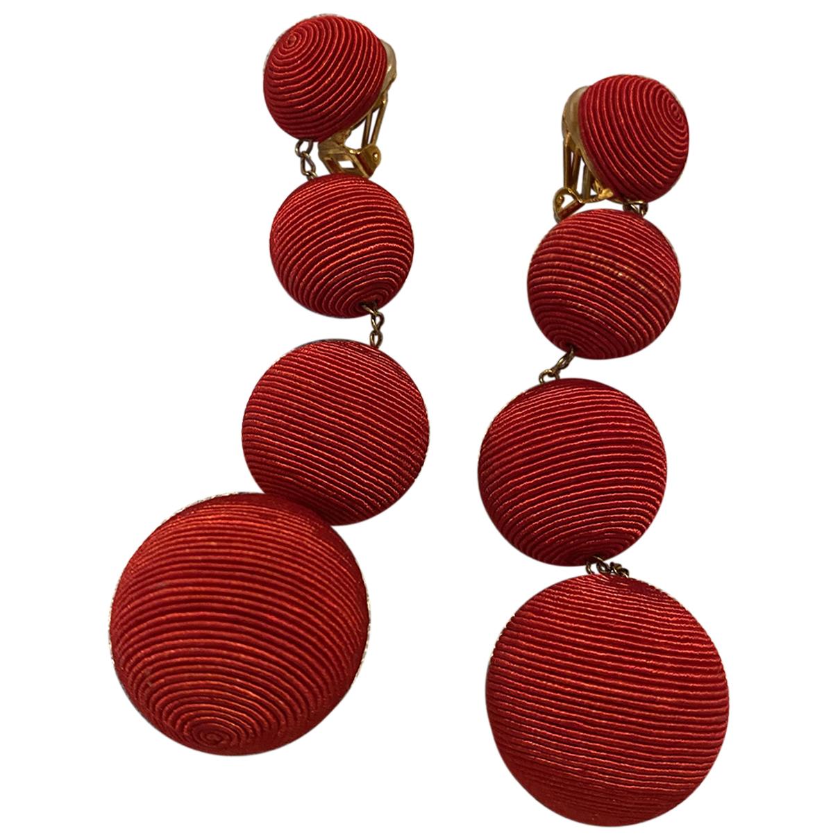 Rebecca De Ravenel - Boucles doreilles   pour femme en autre - rouge