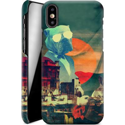 Apple iPhone X Smartphone Huelle - Abracadabra von Ali Gulec