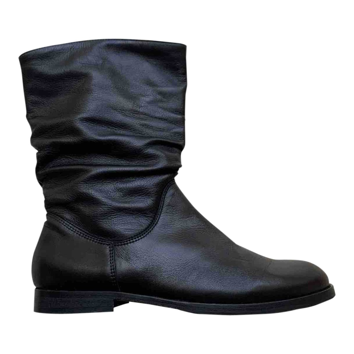 Gallucci \N Black Leather Boots for Women 36 EU