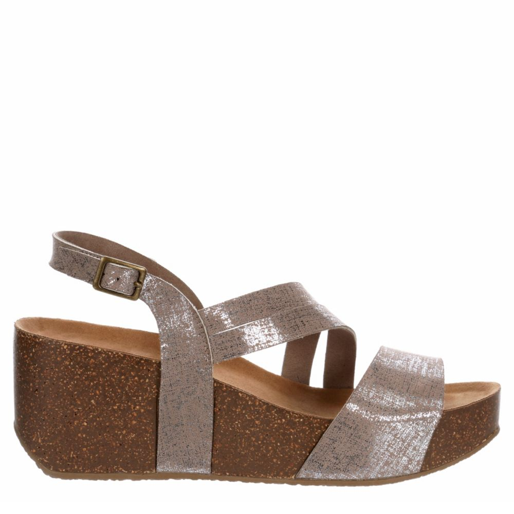 Bjorndal Womens Dixiee Wedge Footbed Sandal