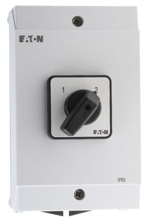 Eaton 3 Pole Enclosed Non Fused Isolator Switch - 25 A dc, 32 A ac Maximum Current, 18.5 kW Power Rating, IP65