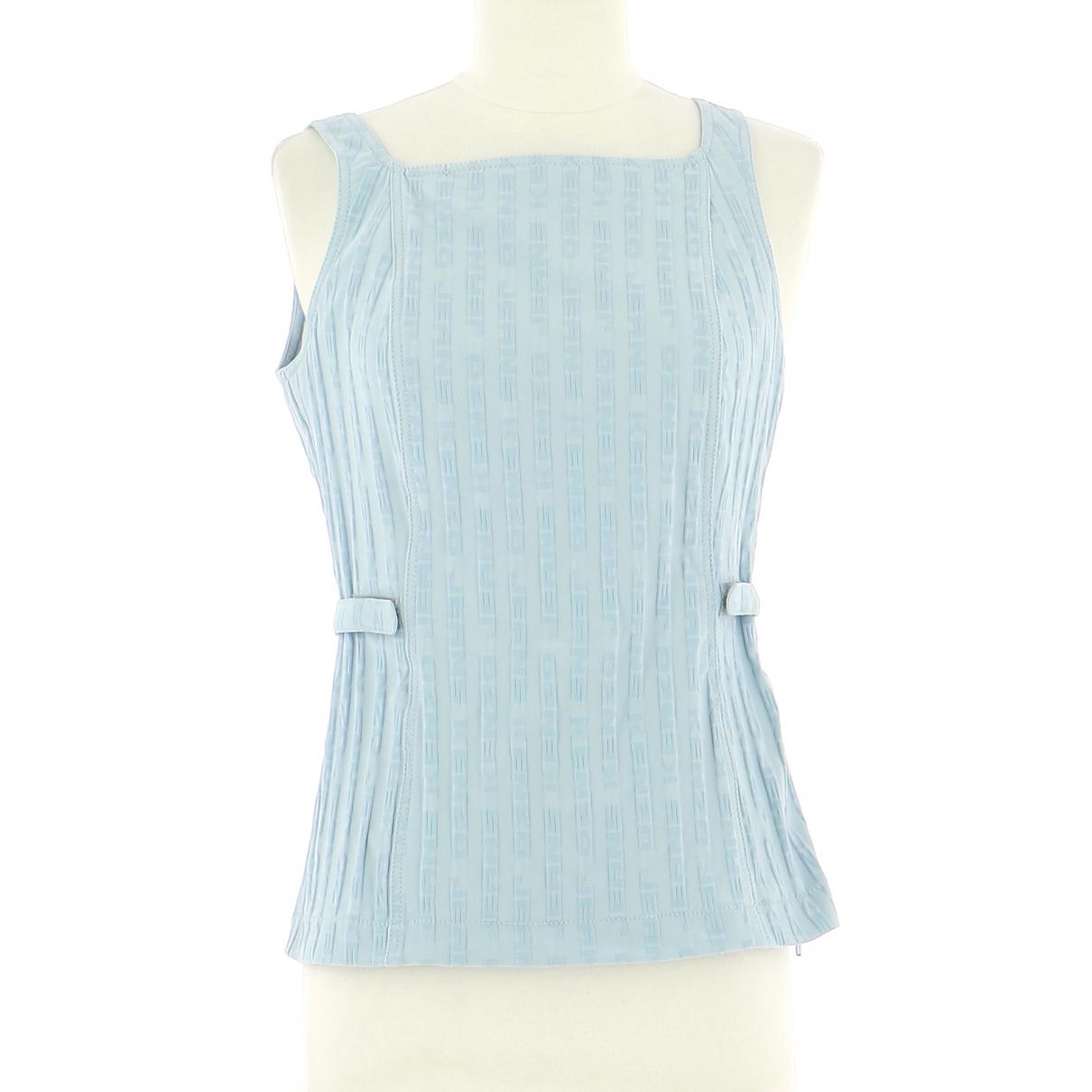Kenzo - Top   pour femme en laine - bleu