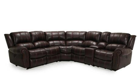 Gretna Collection Sectional Sofa with Nail Head Trim  Deluxe Foam Cushion  Wood Frame  Sinuous Seat Spring  Rolled Arms  Split Back Cushion and