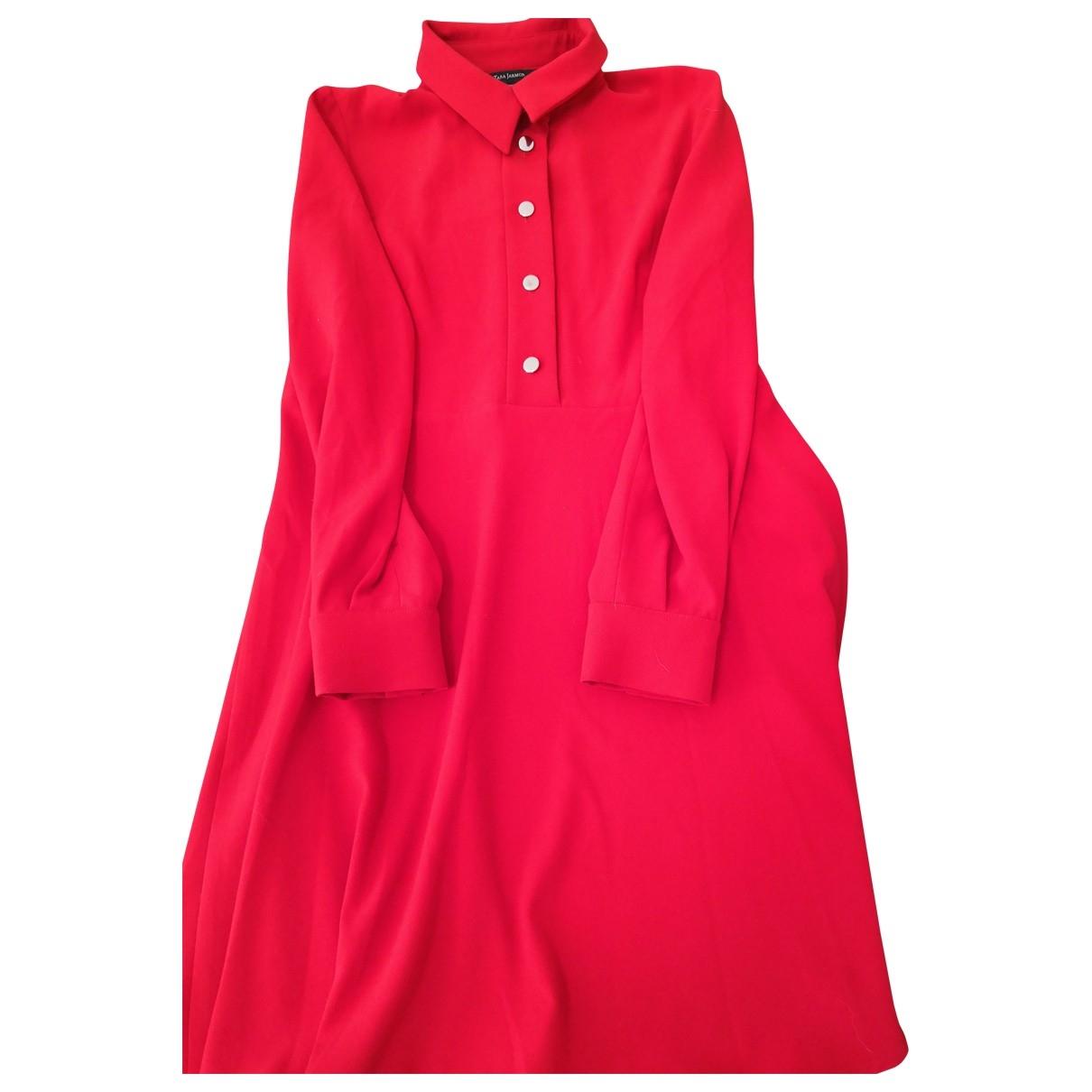Tara Jarmon \N Kleid in  Rot Polyester
