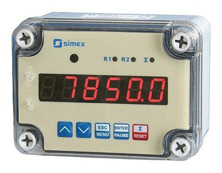 Simex Flow Counter Flow Meter, SPP Series