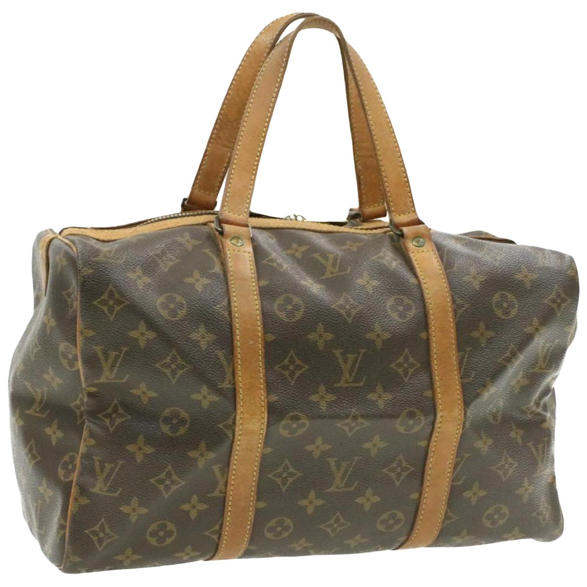 Louis Vuitton Sac souple  Brown Cloth Travel bag for Women \N