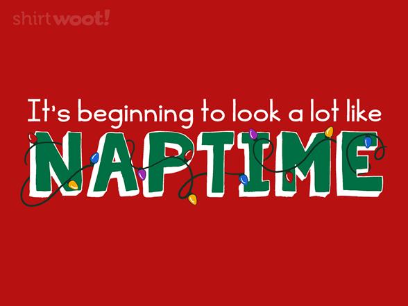 Christmas Napping T Shirt
