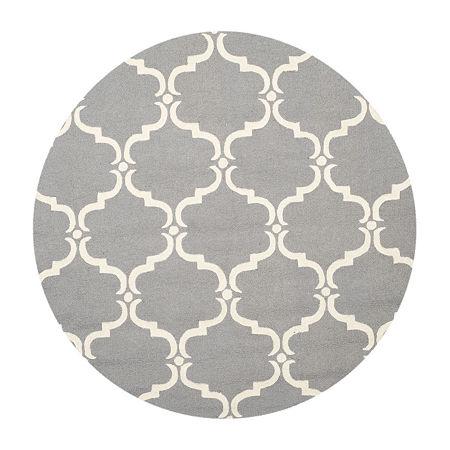 Safavieh Ronan Geometric Hand Tufted Wool Rug, One Size , Gray