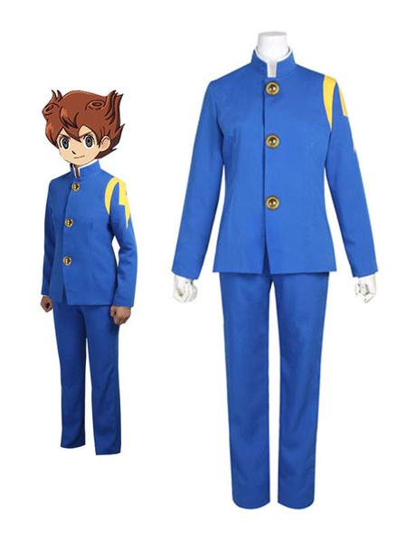 Milanoo Inazuma Eleven Kaminarimon School Uniforms Cosplay Costume