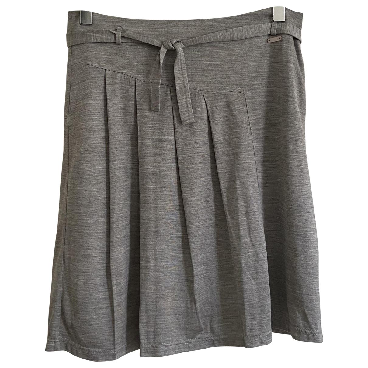 Dior \N Grey Silk skirt for Kids 12 years - XS