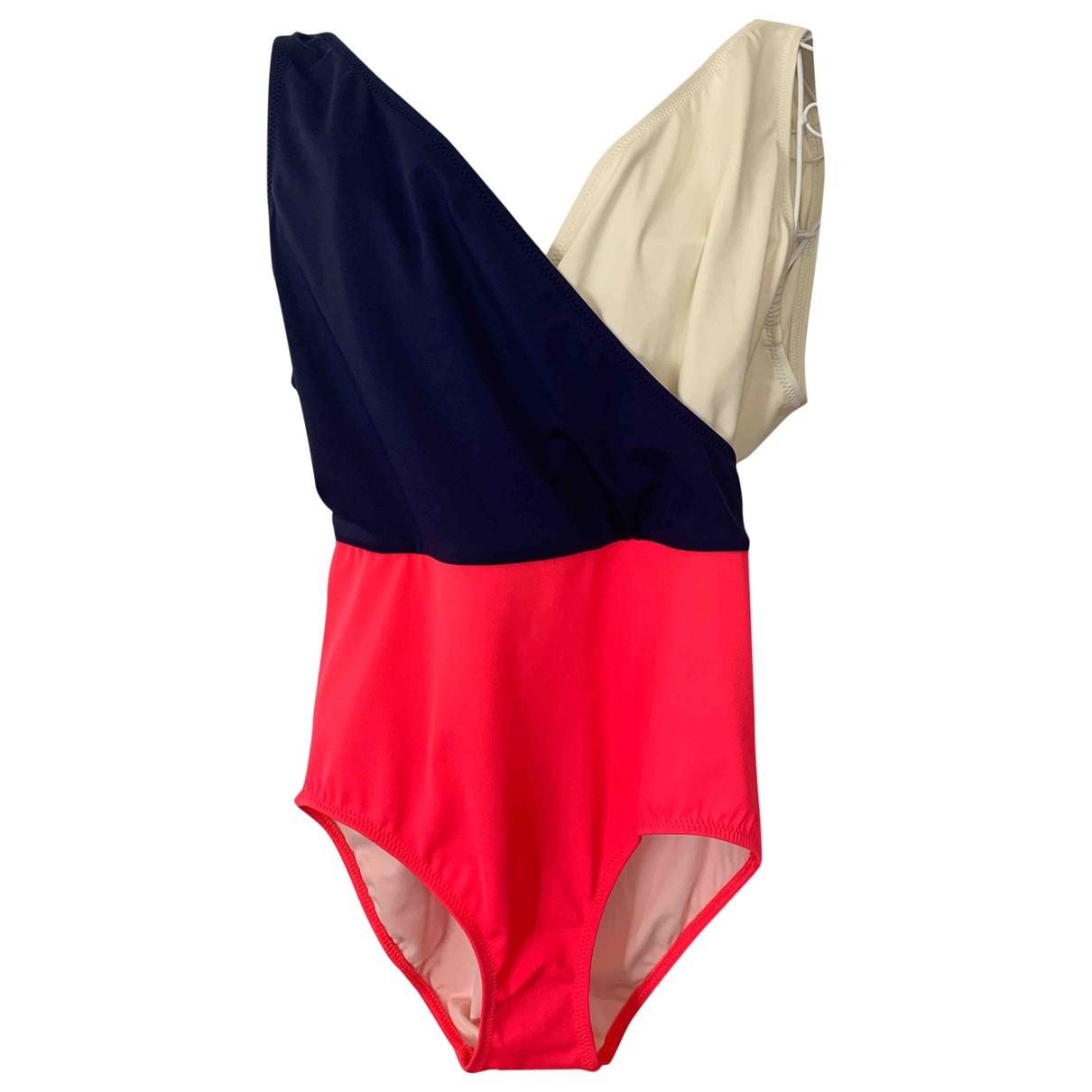 Solid & Striped \N Badeanzug in  Bunt Synthetik