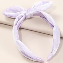 Toddler Girls Bow Knot Decor Hair Hoop