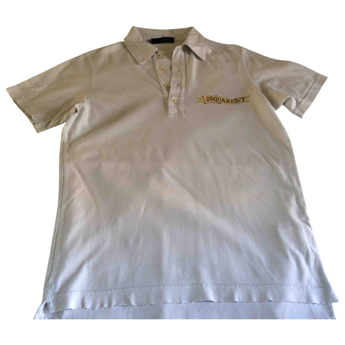 Dsquared2 \N Poloshirts in  Weiss Baumwolle