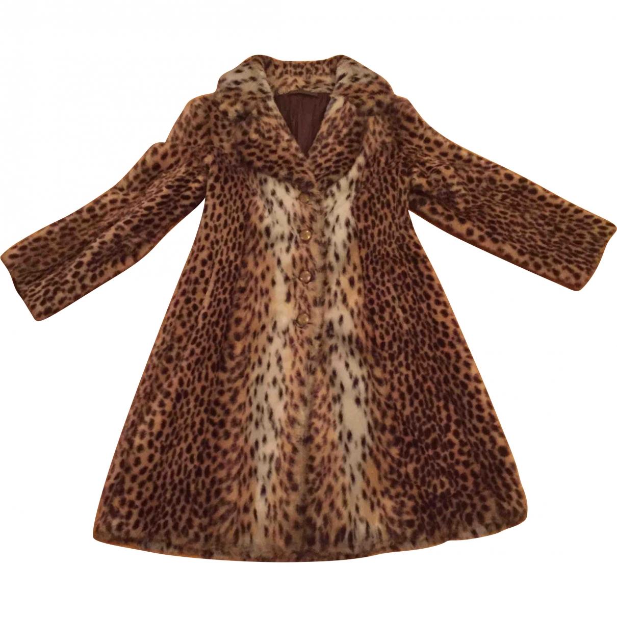 Non Signé / Unsigned \N Faux fur coat for Women 38 FR