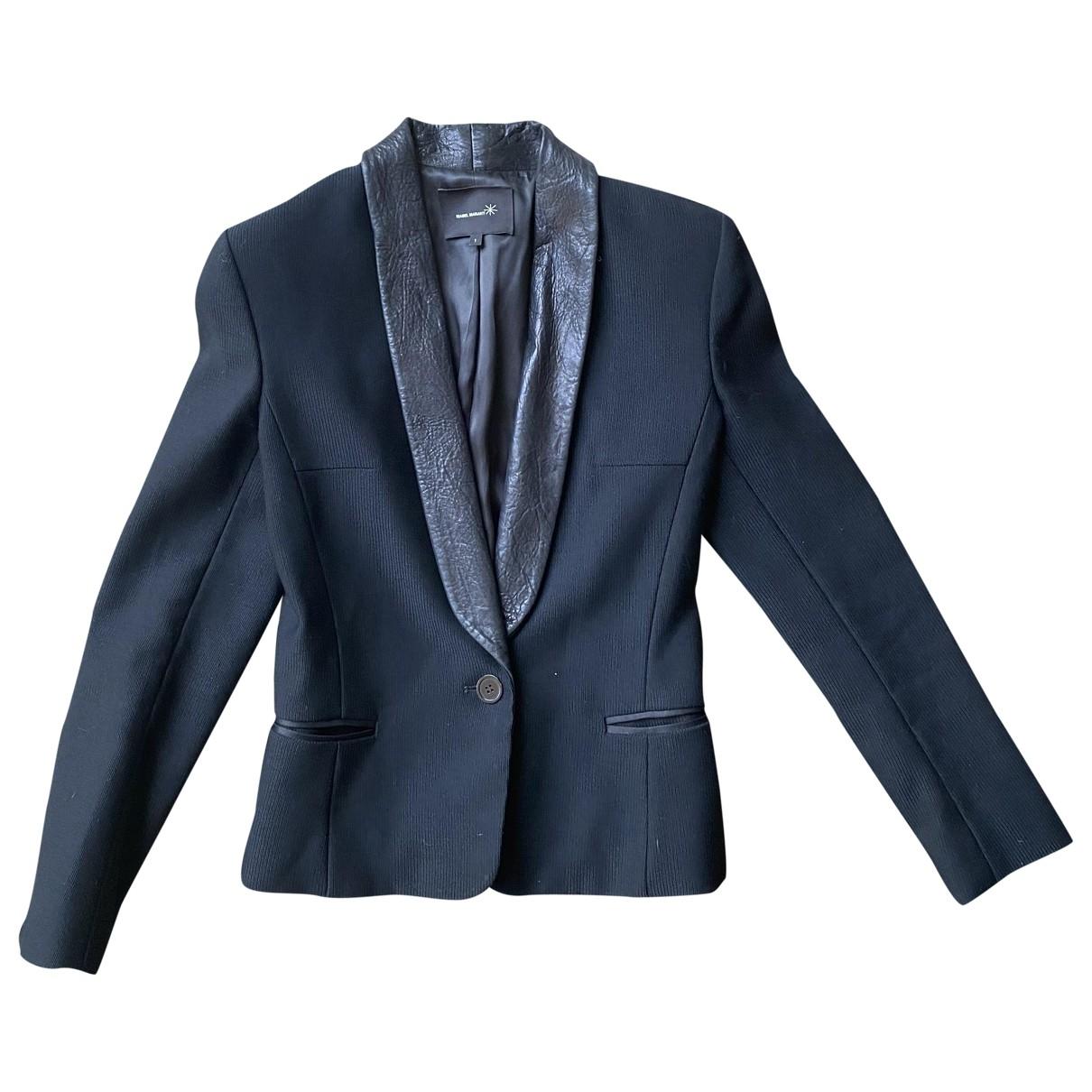 Isabel Marant \N Black Wool jacket for Women 1 0-5