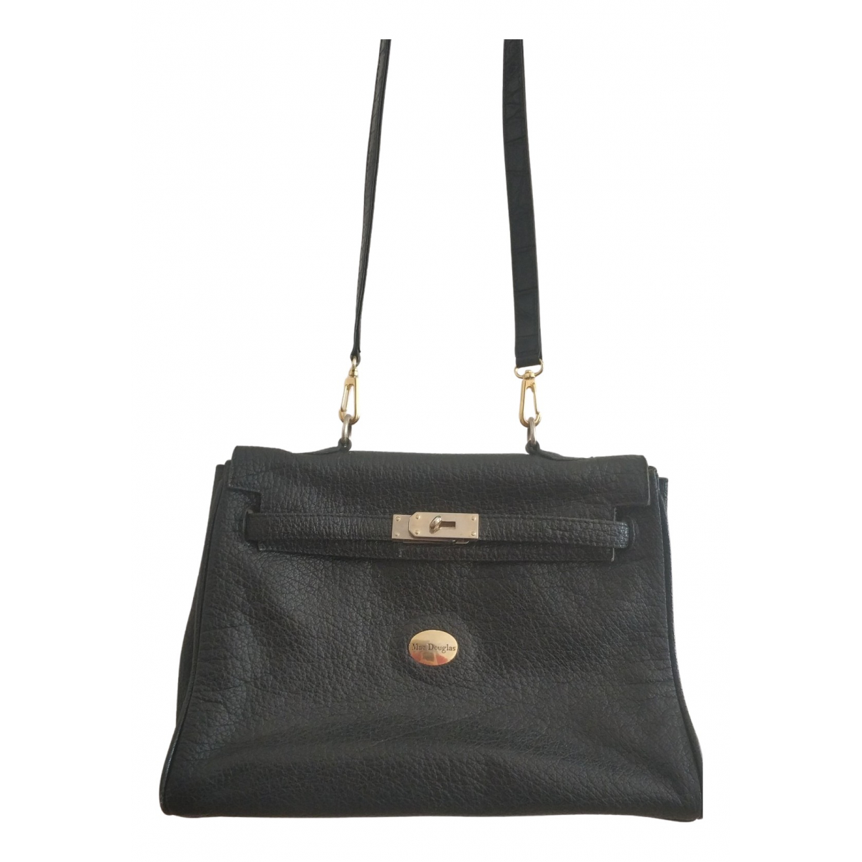 Mac Douglas N Black Leather handbag for Women N