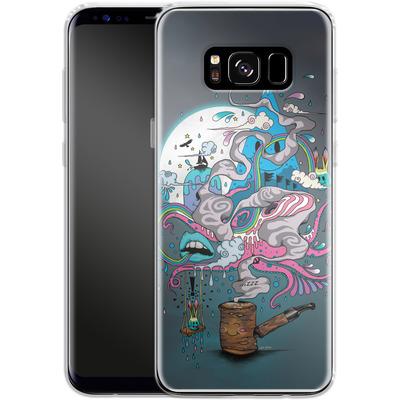Samsung Galaxy S8 Silikon Handyhuelle - Pipe Dreams von Mat Miller