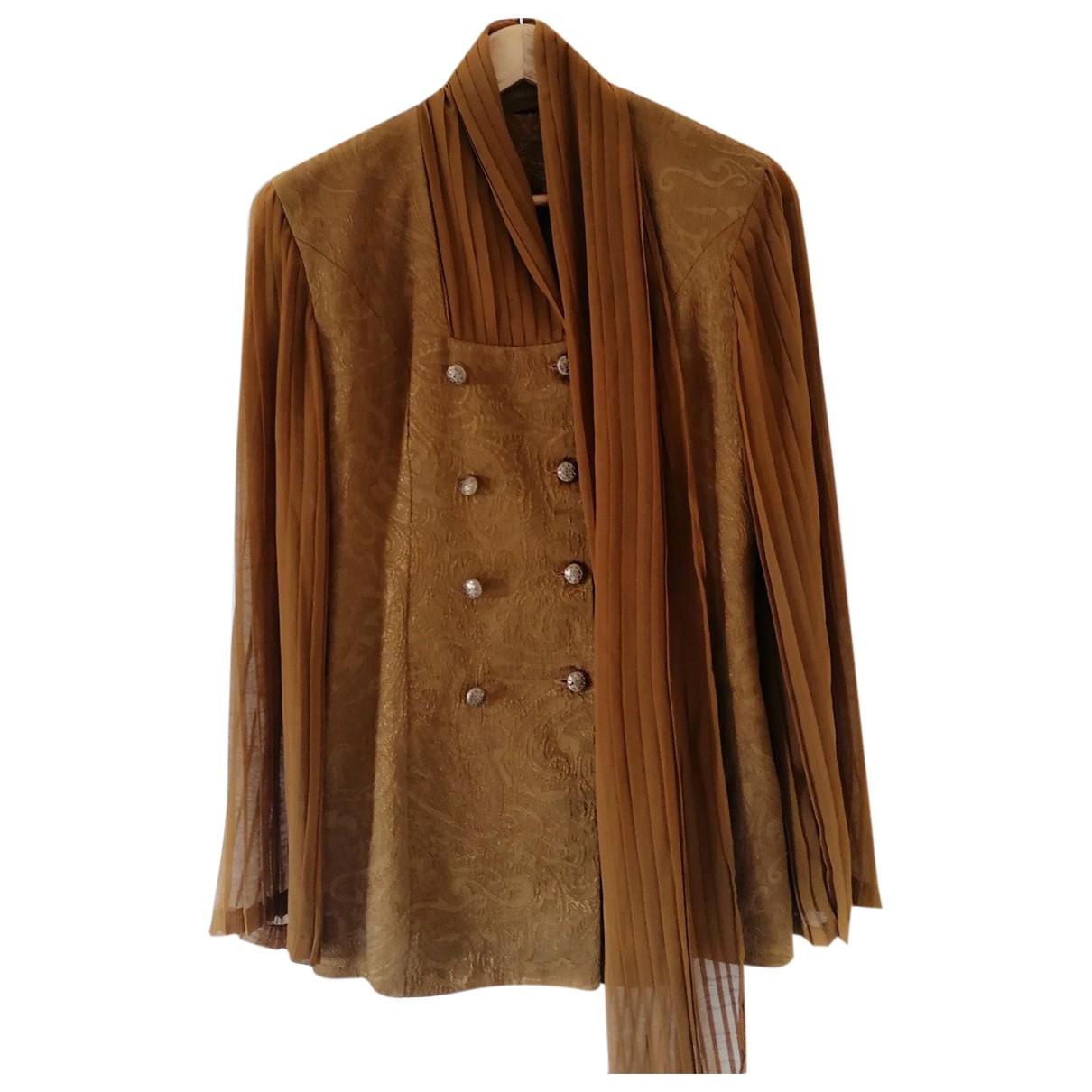 - Veste   pour femme en velours - marron