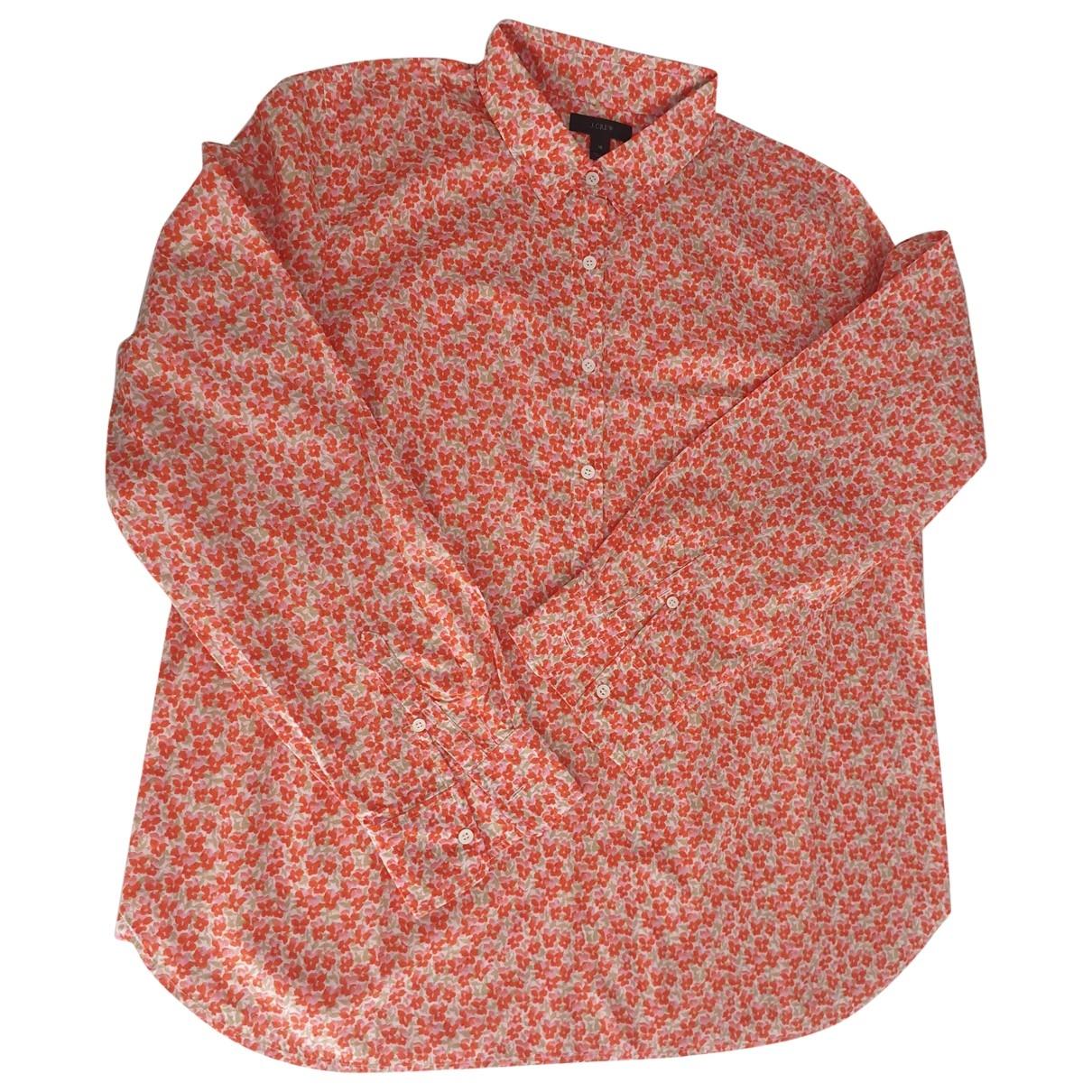J.crew \N Multicolour Cotton  top for Women 16 UK
