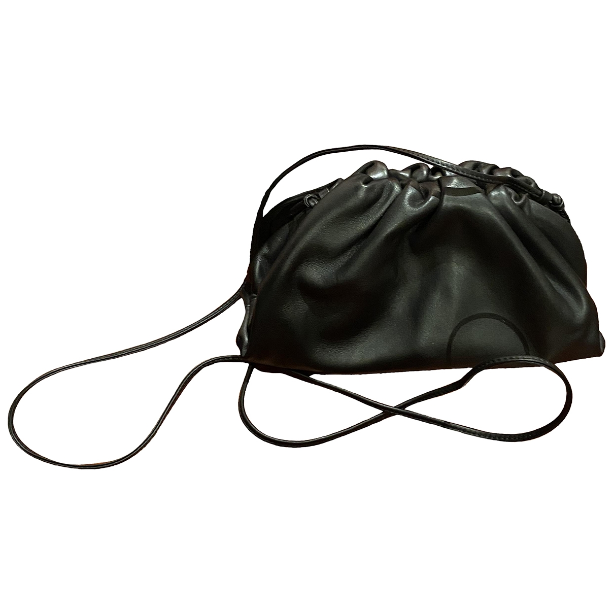 Bottega Veneta Pouch Black Leather handbag for Women \N
