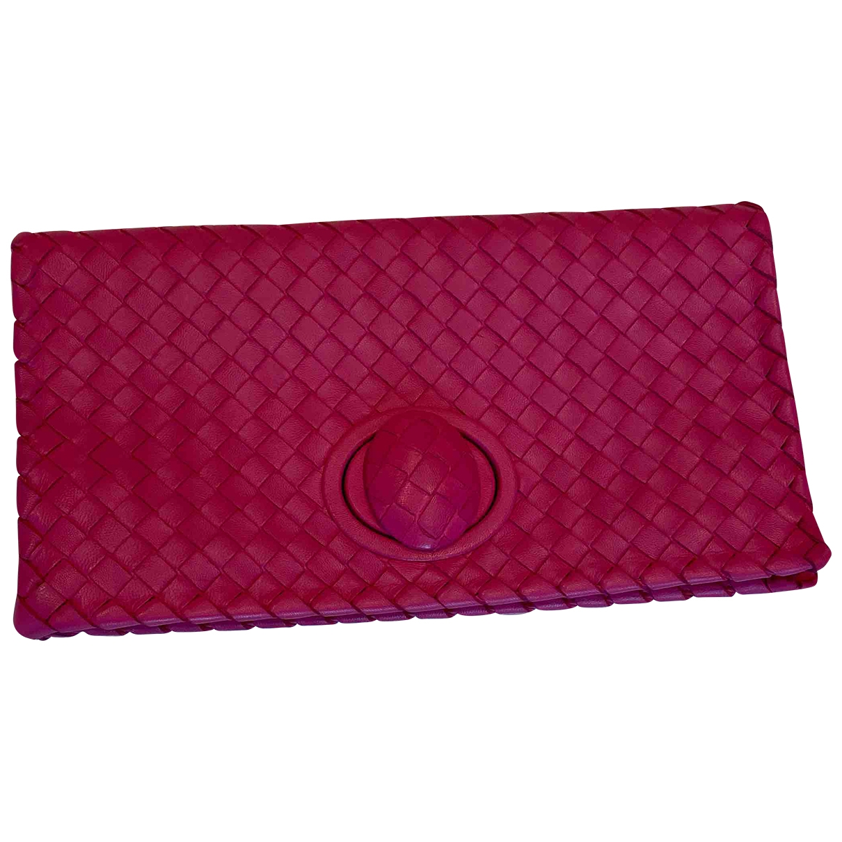 Bottega Veneta \N Clutch in  Rosa Leder