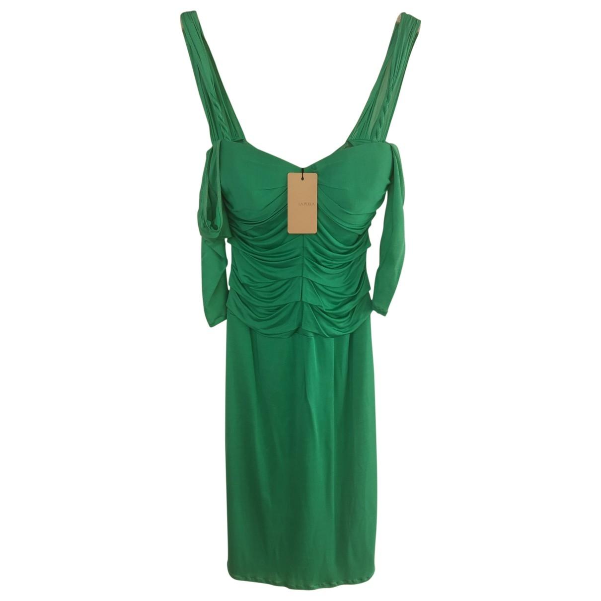 La Perla \N Kleid in  Gruen Seide