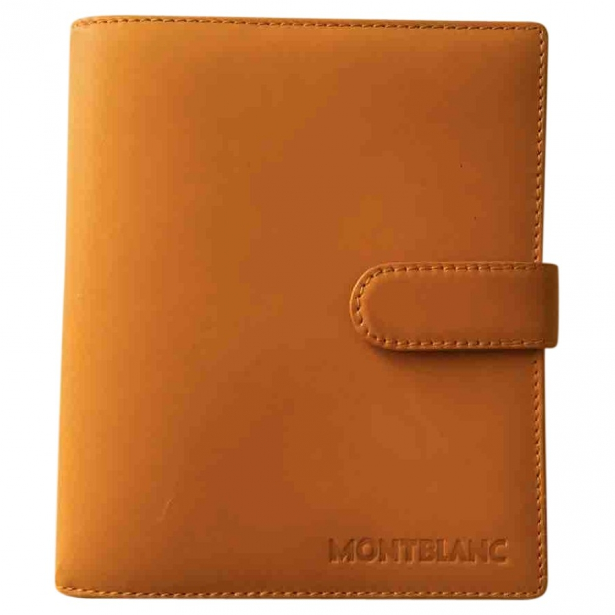 Montblanc - Objets & Deco   pour lifestyle en cuir - jaune