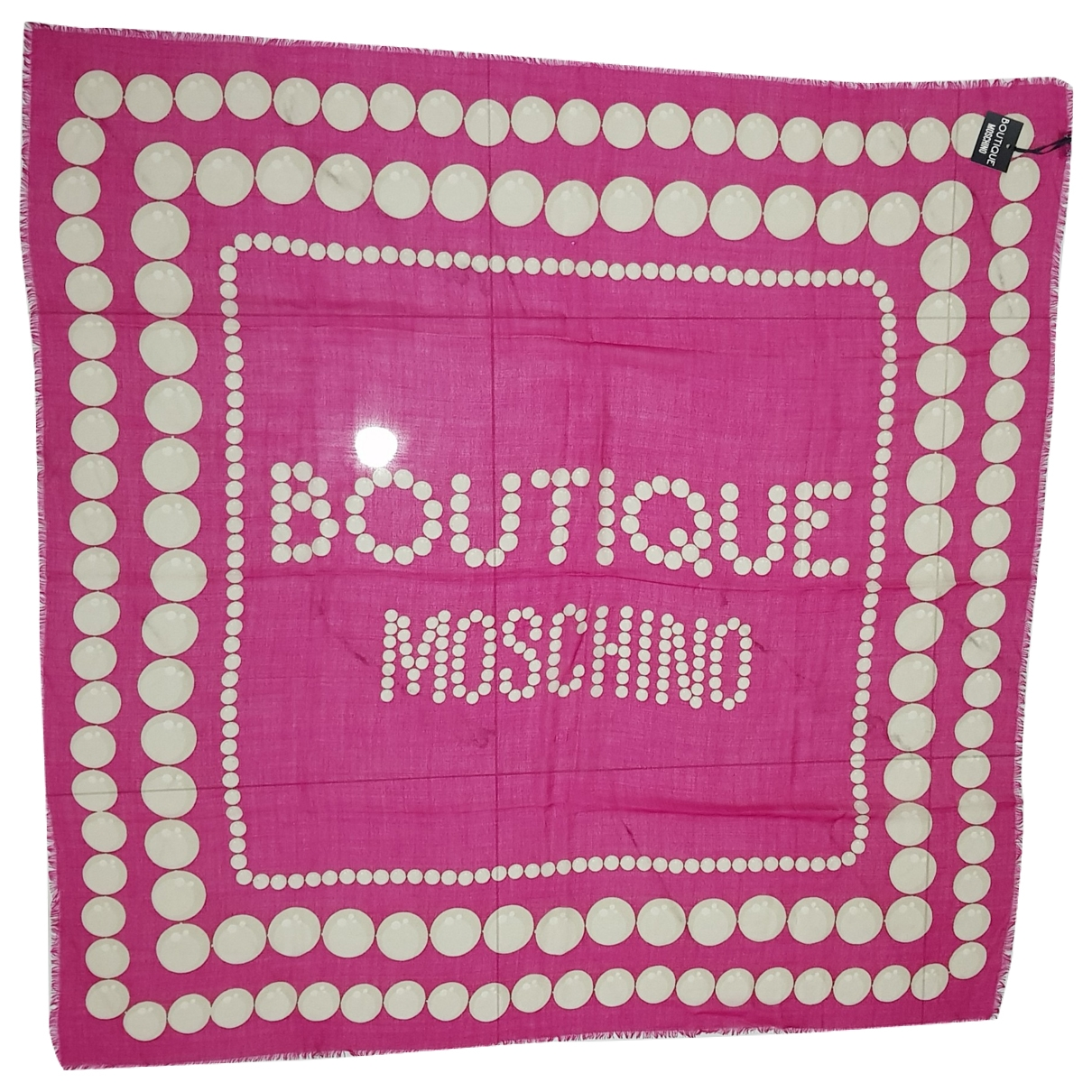 Moschino \N Pink Wool scarf for Women \N