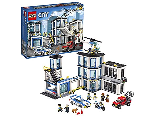 Lego Police Station Building Toy