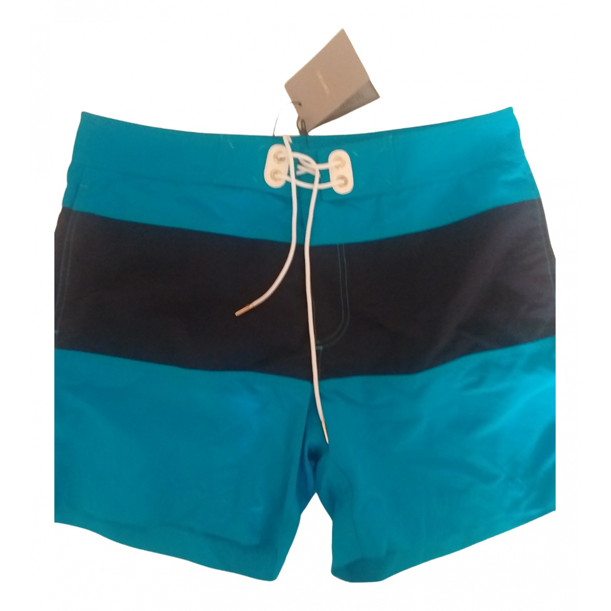 Tom Ford N Turquoise Cotton - elasthane Swimwear for Men XL International