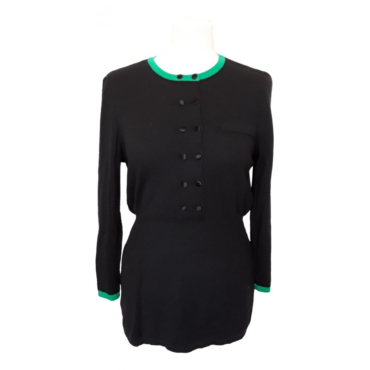 Louis Feraud \N Kleid in  Schwarz Wolle