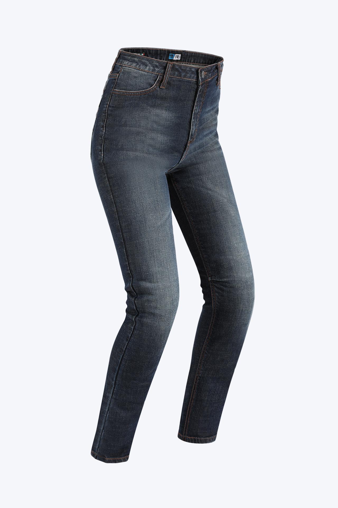 PMJ Sara Lady Denim  Motorcycle Jeans 34