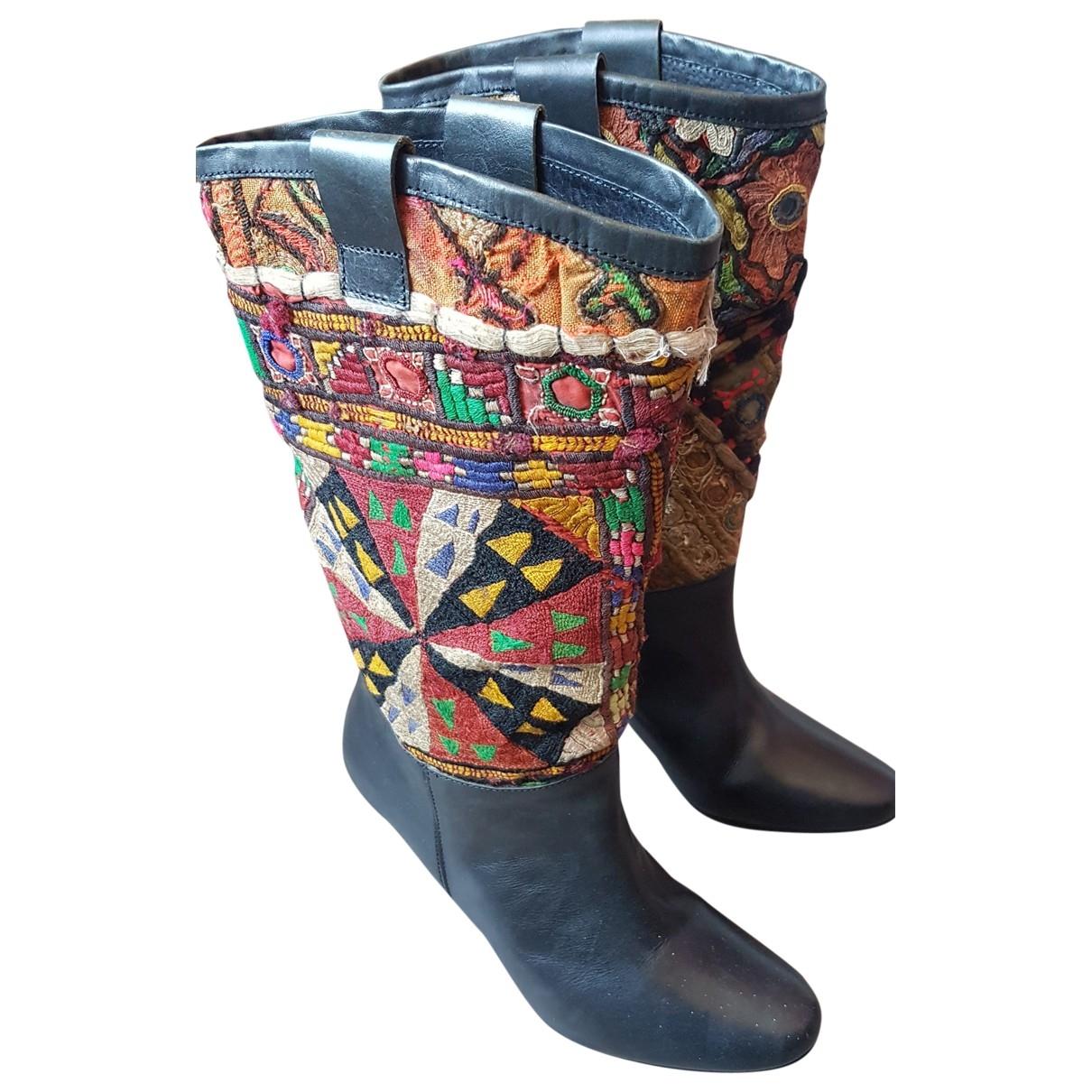 Botas de Cuero Antik Batik